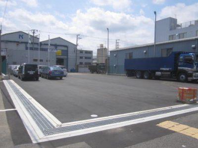 西川商工株式会社様 旭ヶ丘営業所駐車場工事