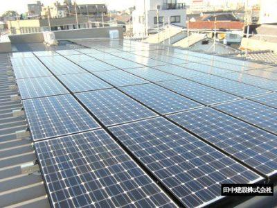 泰心館太陽光発電設備設置工事 15.48KW