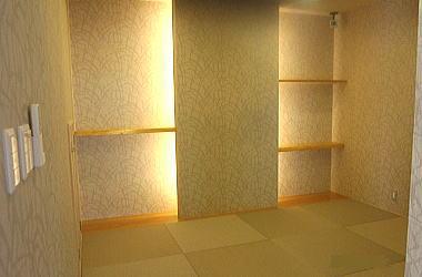 デザイン床の間