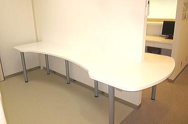 作業効率を考慮した作業台