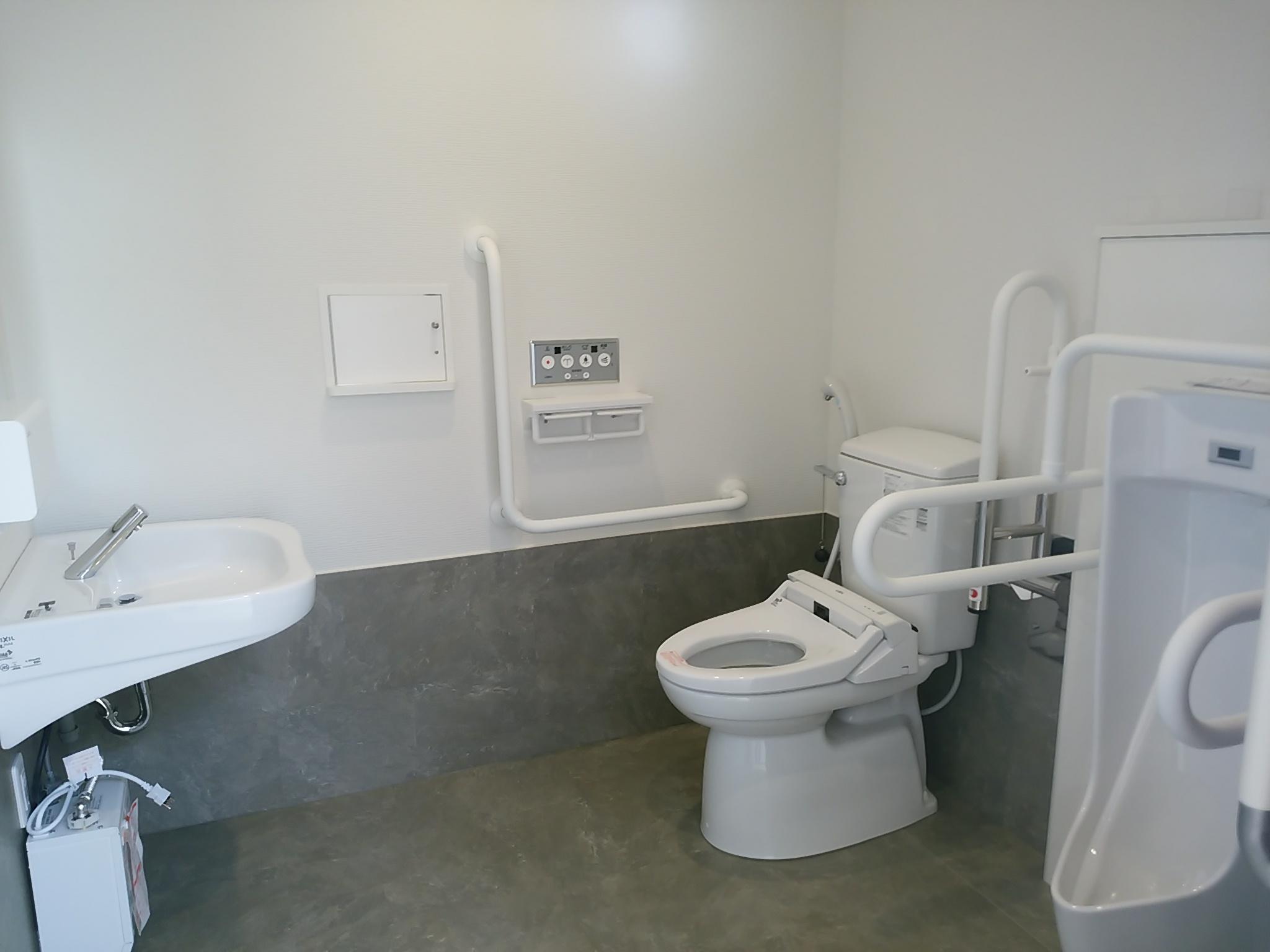 オスメイト対応トイレ